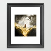 A Place To Stay Framed Art Print