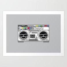 1 kHz #5 Art Print