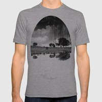 what is reflection? Mens Fitted Tee Athletic Grey SMALL