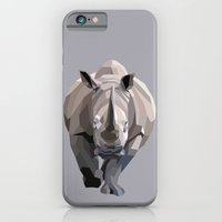 iPhone & iPod Case featuring Rhino by Liam Brazier