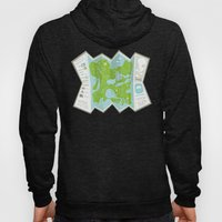Totally Inaccurate Map of Gifford Pinchot State Park Hoody