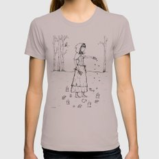 Circle Of Protection Womens Fitted Tee Cinder SMALL