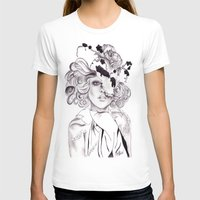 Garden Hat  Womens Fitted Tee White SMALL