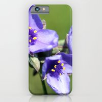 Spiderwort iPhone 6 Slim Case
