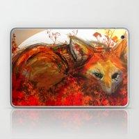 Fox in Sunset III Laptop & iPad Skin