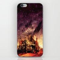 Carry On My Wayward Son iPhone & iPod Skin