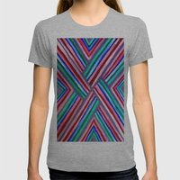 XO Womens Fitted Tee Athletic Grey SMALL