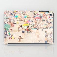 Beach Crowd iPad Case