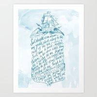 Old Sailor Song No.3 Art Print