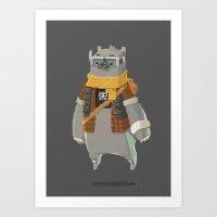 Timebear Art Print