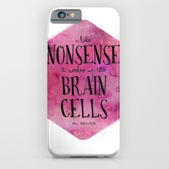 I Like Nonsense iPhone & iPod Case