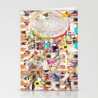 Stationery Cards featuring Sogni D'oro Dreamcatcher by Caroline Sansone