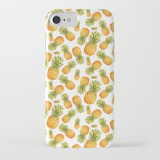 Pineapple Glittering Party iPhone 7 Slim Case