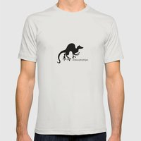 Ferret 1 Mens Fitted Tee Silver SMALL