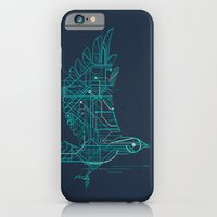 iPhone Cases featuring Wind-Up Bird by Jay Fleck
