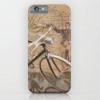 vintage bicycle hipster iPhone 6 Slim Case