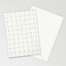 Mint Diamonds Stationery Cards