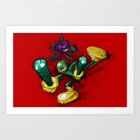 KICK-ASS Art Print
