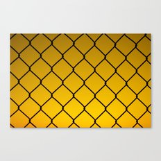 fenced Canvas Print
