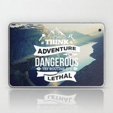 Adventure Quote Laptop & iPad Skin