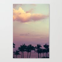 florida tress Canvas Print