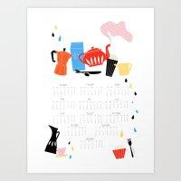 Calendar 2014 Art Print