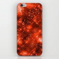 Dazzling Series (Orange) iPhone & iPod Skin