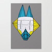 Canvas Print featuring Robo dog Helgi by Ninna