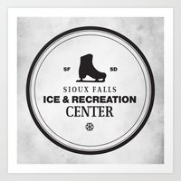 Sioux Falls Ice & Recrea… Art Print