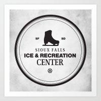 Sioux Falls Ice & Recreation Center Art Print