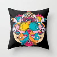 Daily Drawing 2039 Throw Pillow