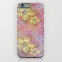 Softly Textured Floral iPhone 6 Slim Case