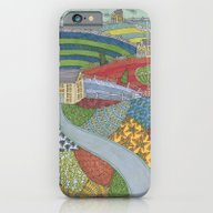 iPhone & iPod Case featuring Island Patchwork by Jennifer Judd-mcgee