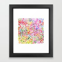 Rain 15 Framed Art Print