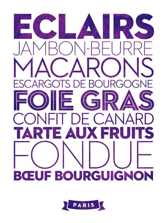 Paris — Delicious City Prints Art Print