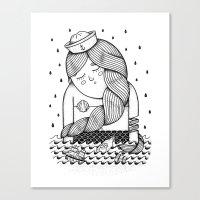 Amour Éternel (Elle) Canvas Print