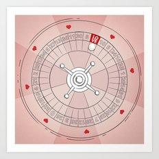 Lucky! Valentines Specia… Art Print