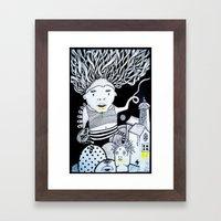 The Egg  Framed Art Print