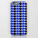 HobNob BlueBlack Print, Canvas and Laptop/iPad Skin iPhone & iPod Case