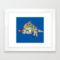 Robot 2.0 Framed Art Print