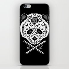 Panda De La Muerte iPhone & iPod Skin