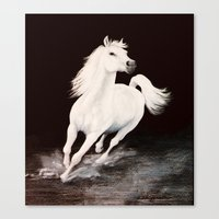 I Dreamed Him White (painting) Canvas Print