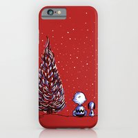 iPhone & iPod Case featuring Merry Christmas Charlie Brown by Estelle F