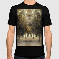 Spirit Of The Trees Mens Fitted Tee Black SMALL