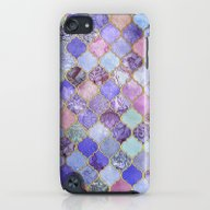Royal Purple, Mauve & In… iPod touch Slim Case
