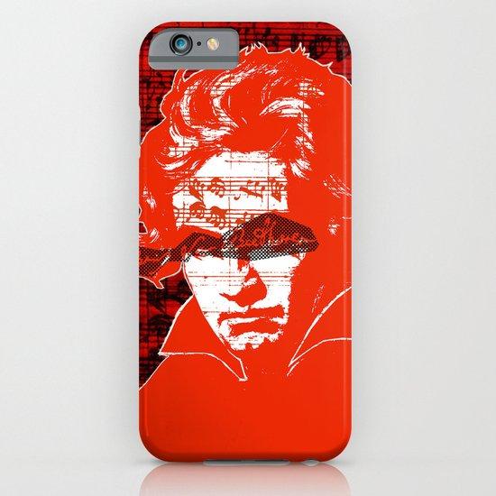 Ludwig van Beethoven · red10 iPhone & iPod Case