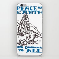 Peace on earth 2014 iPhone & iPod Skin