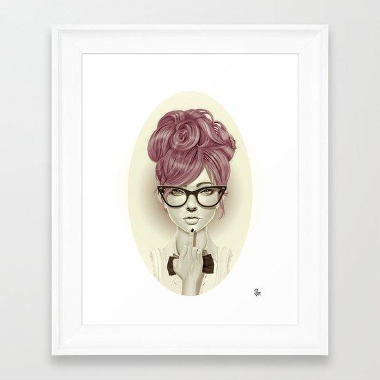 Fu*k U Framed Art Print