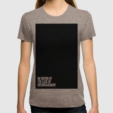 Driven Womens Fitted Tee Tri-Coffee SMALL