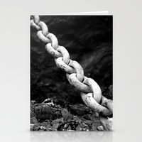 A chain to far... Again Stationery Cards